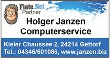 Holger Janzen Computerservice in Gettorf