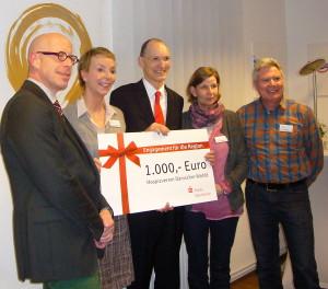 Spendenübergabe LR Dr. Schwemer