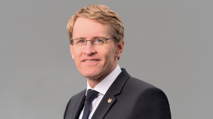 Unser Schirmherr Ministerpräsident Daniel Günther